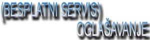 Besplatni servis OGLAŠAVANJE